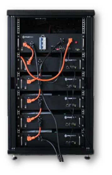 0-CO2 | Batterie di Storage - PYLON Tech HV - Rack H48050A con BMS SC05004