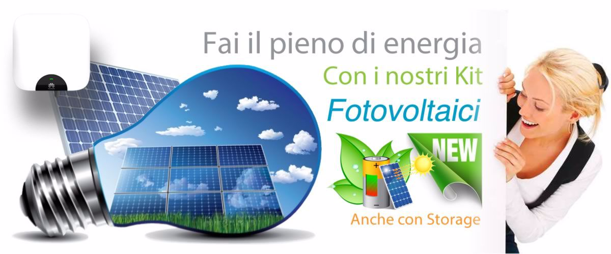 Distribuzione componenti per impianti fotovoltaici